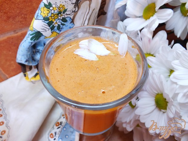 Тыквенно-морковный фрэш с лаймом