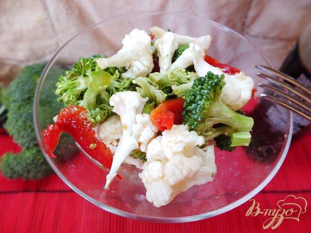 Сыроедческий салат из брокколи