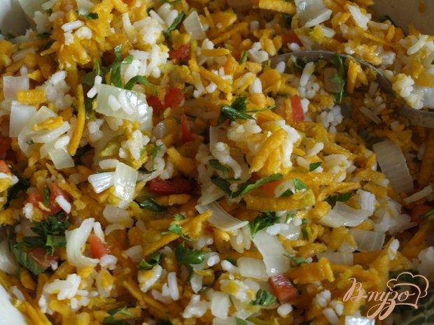 Тыквенно-рисовая запеканка