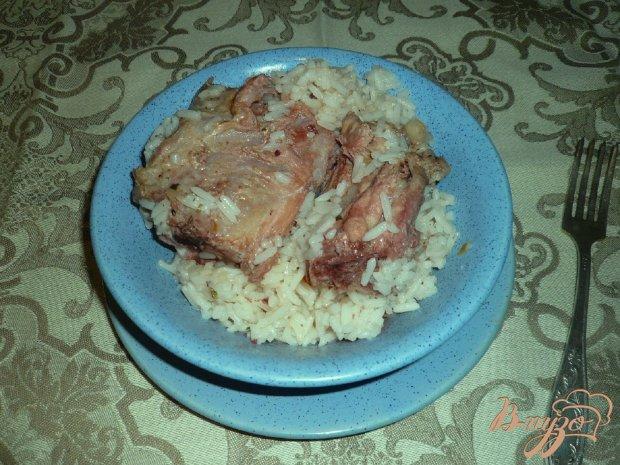 Свинина с рисом и курагой