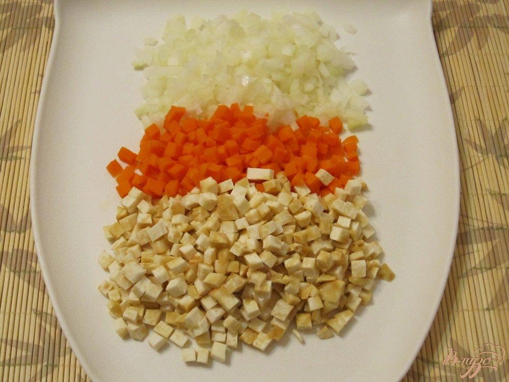 Фото приготовление рецепта: Немецкий густой суп