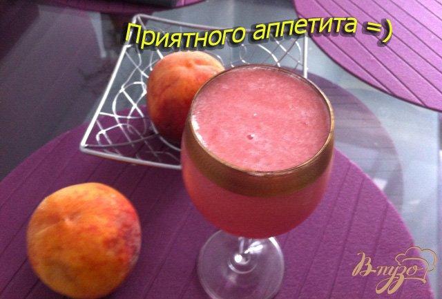 Фото приготовление рецепта: Дынно-арбузный смузи шаг №7