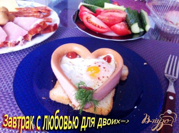 Рецепт Завтрак с любовью из Львова