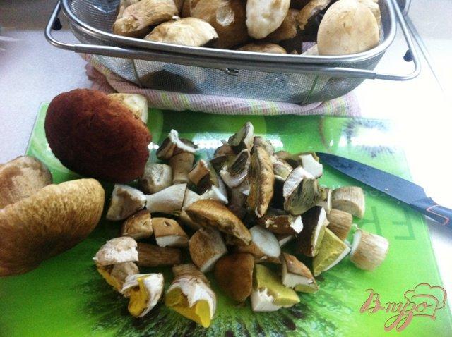 Фото приготовление рецепта: Заготовка грибов на зиму шаг №2