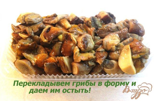 Фото приготовление рецепта: Заготовка грибов на зиму шаг №9