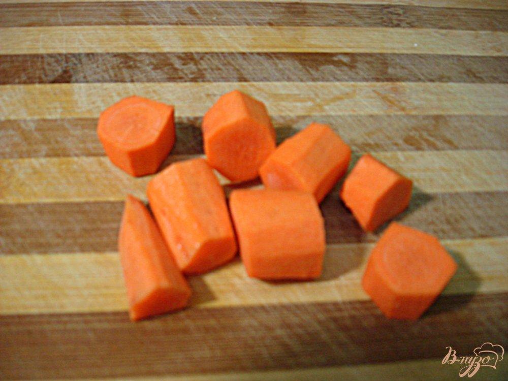 Фото приготовление рецепта: Овощной суп пюре с фрикадельками шаг №6