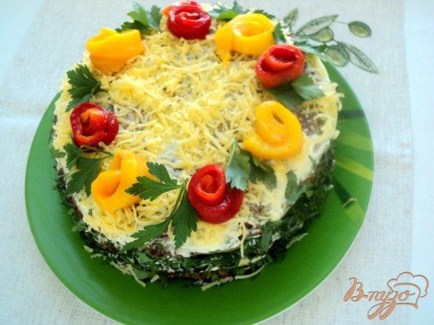Рецепт Баклажанный закусочный торт