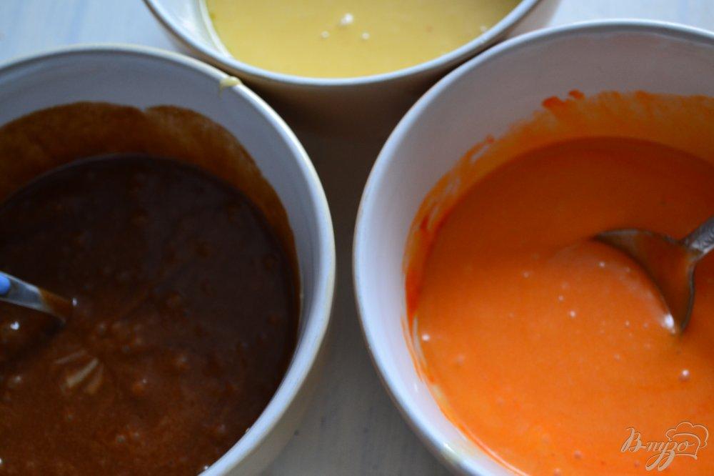 Фото приготовление рецепта: Бисквитные пирожные