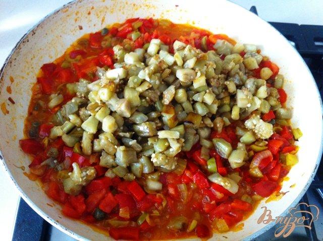 Фото приготовление рецепта: Капоната (Caponata) шаг №13