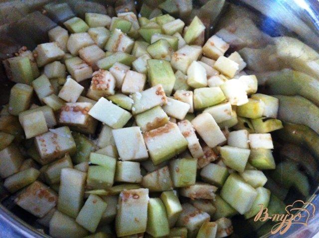 Фото приготовление рецепта: Капоната (Caponata) шаг №2
