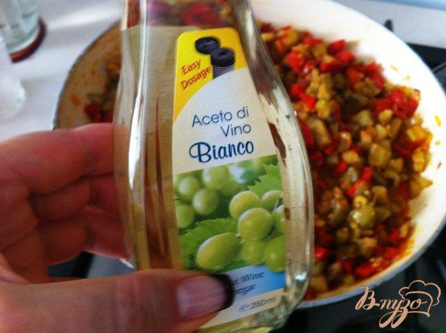 Фото приготовление рецепта: Капоната (Caponata) шаг №14