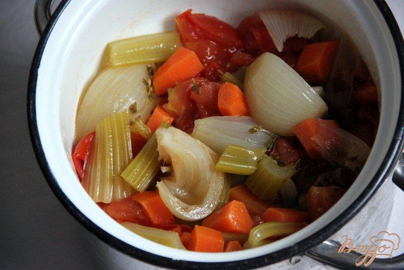 Фото приготовление рецепта: Римский суп с нутом шаг №1