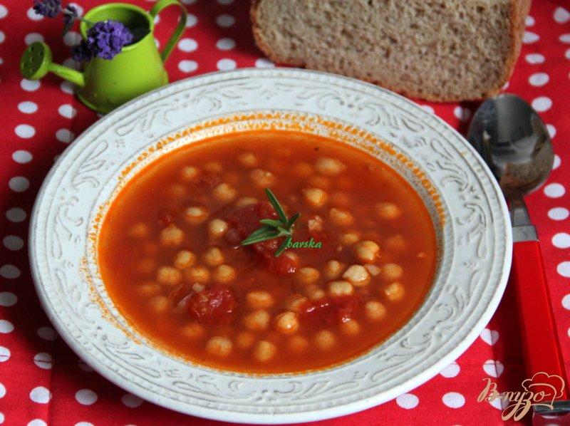 Фото приготовление рецепта: Римский суп с нутом шаг №5