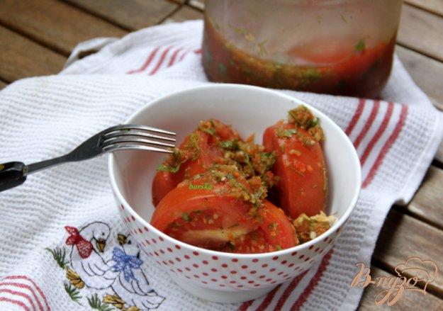 фото рецепта: Закуска из помидоров