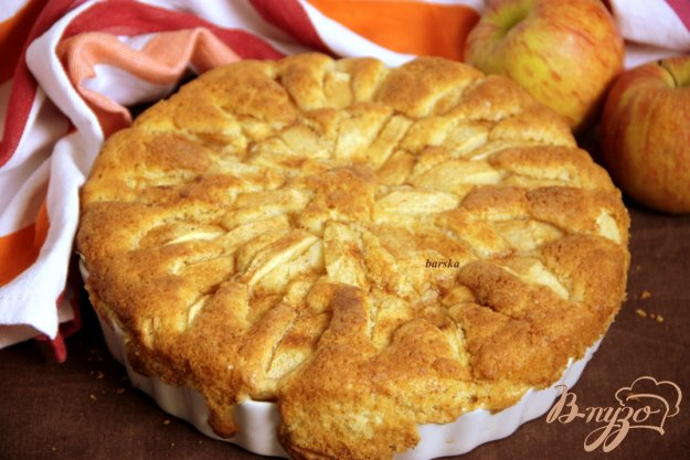 фото рецепта: Корнуэльский яблочный пирог