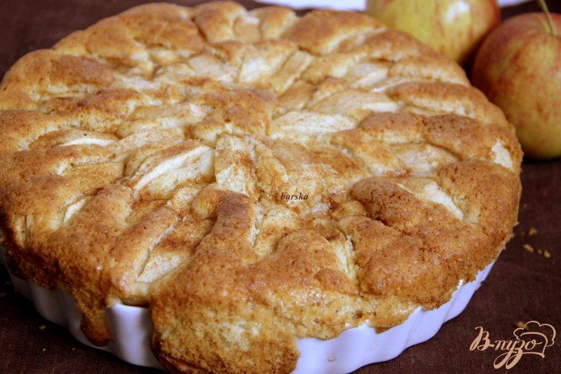 Фото приготовление рецепта: Корнуэльский яблочный пирог шаг №12