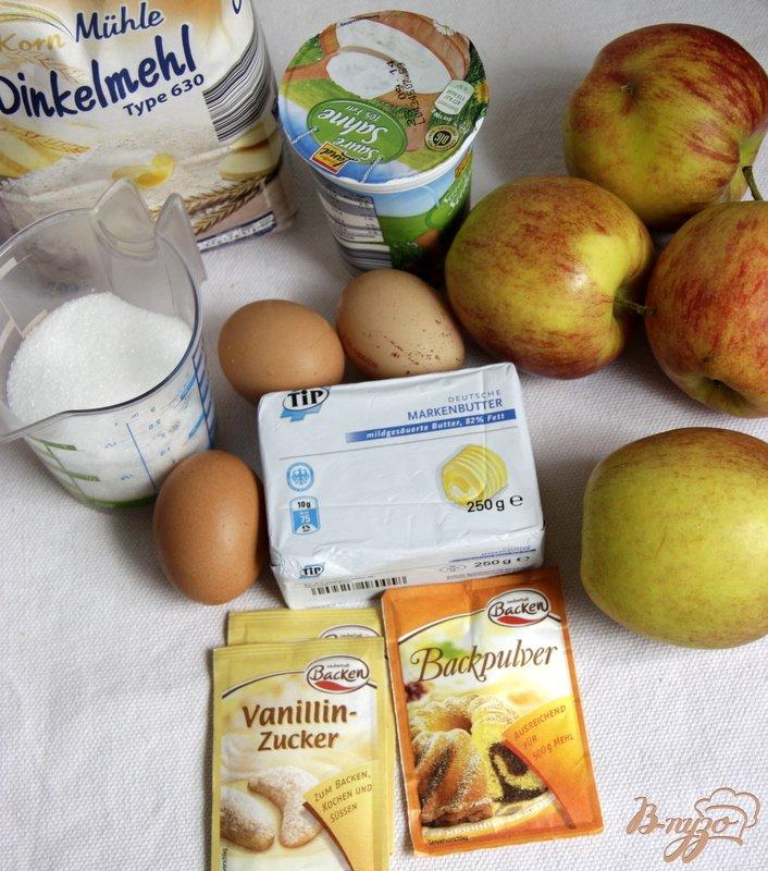 Фото приготовление рецепта: Корнуэльский яблочный пирог шаг №1