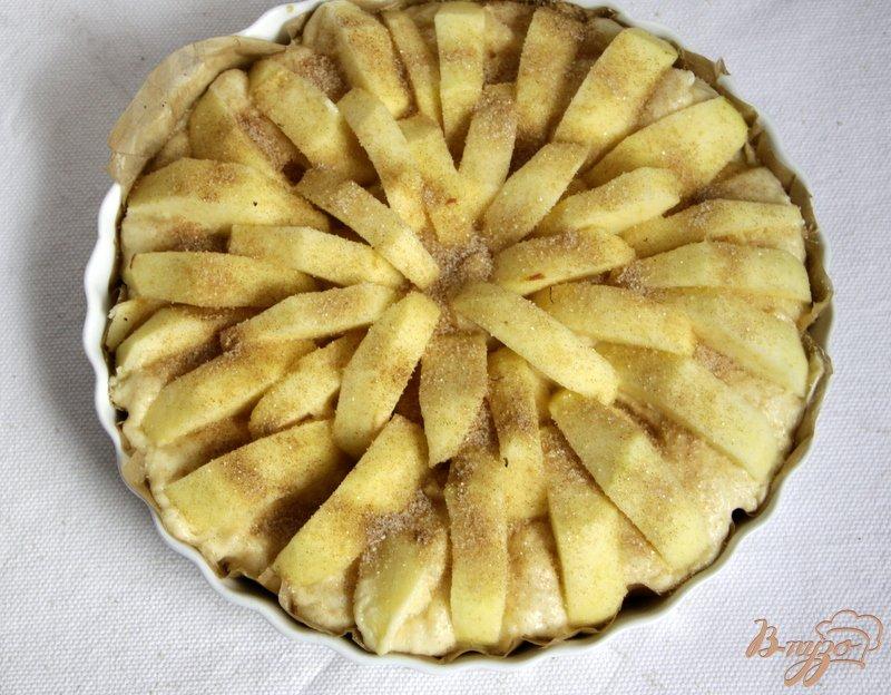 Фото приготовление рецепта: Корнуэльский яблочный пирог шаг №10