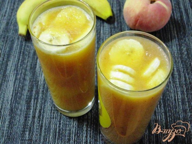 Рецепт Персиково-банановый смузи