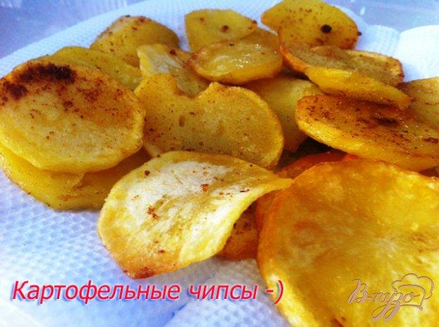 Чипсы из картофеля в мультиварке рецепт с фото