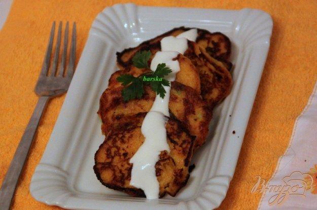 Рецепт Тыквенно-картофельные оладьи
