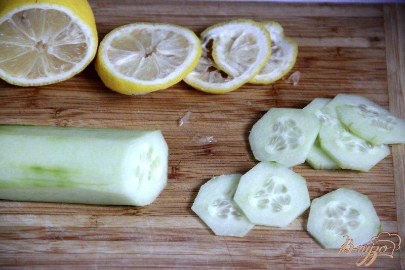 Фото приготовление рецепта: Sassy water Вода Сасси шаг №1