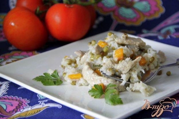 Рецепт Плов с рисом и машем
