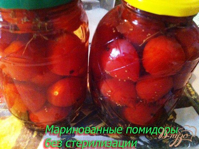 Фото приготовление рецепта: Маринованные помидоры без стерилизации шаг №9