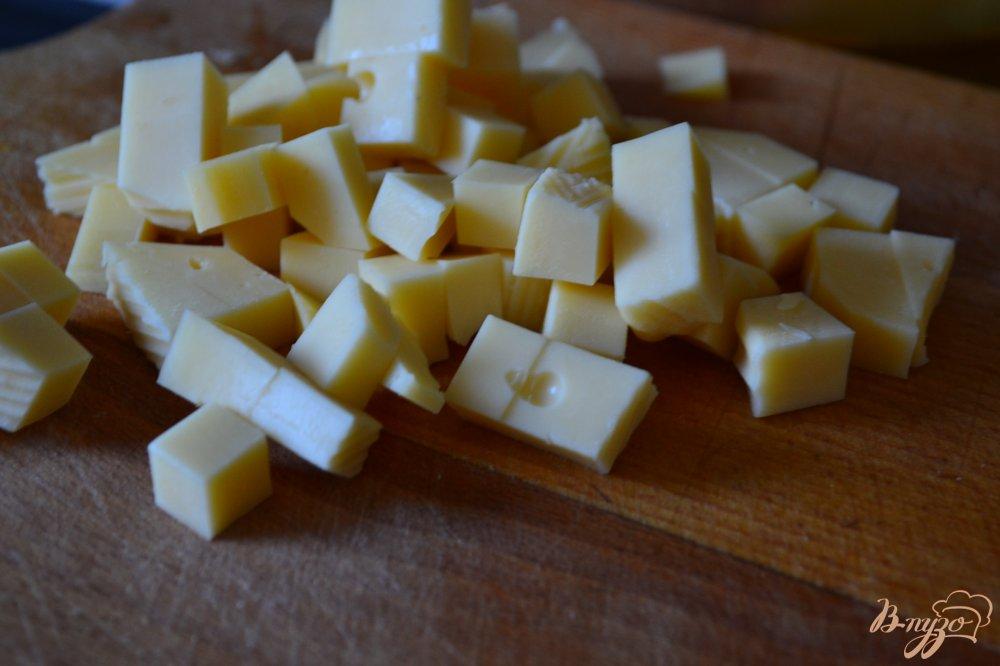 Фото приготовление рецепта: Овощной салат с соусом из ежевики шаг №2