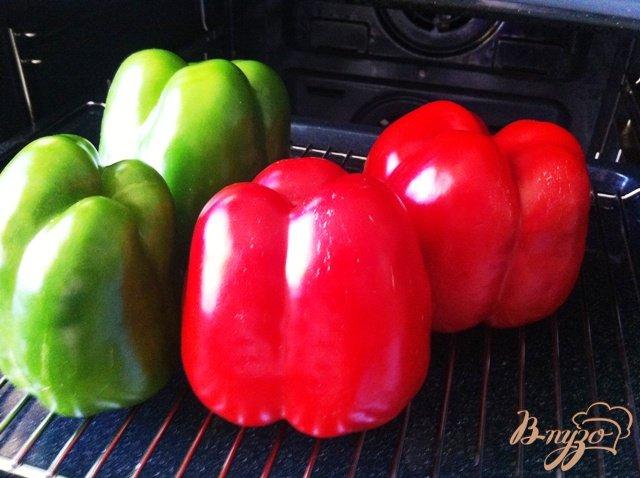 Фото приготовление рецепта: Маринованный перец с чесноком на зиму шаг №1