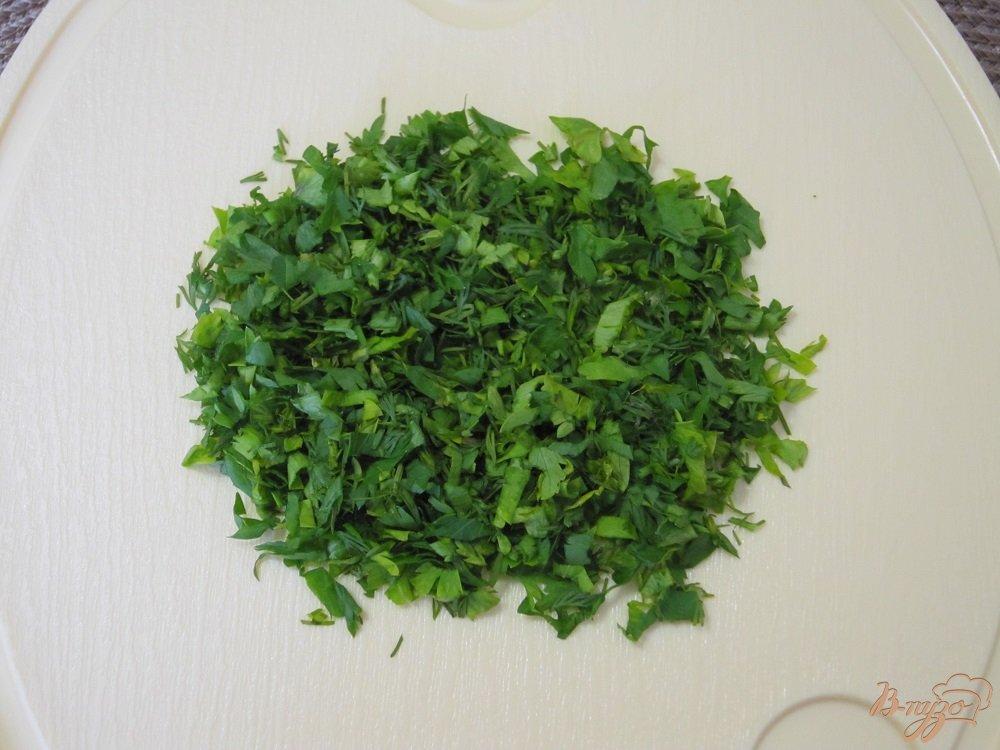 Фото приготовление рецепта: Куриные оладушки с овощами шаг №5