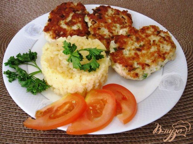 фото рецепта: Куриные оладушки с овощами