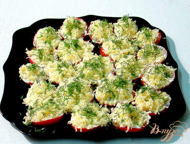 Рецепт Закуска из помидоров и сыра