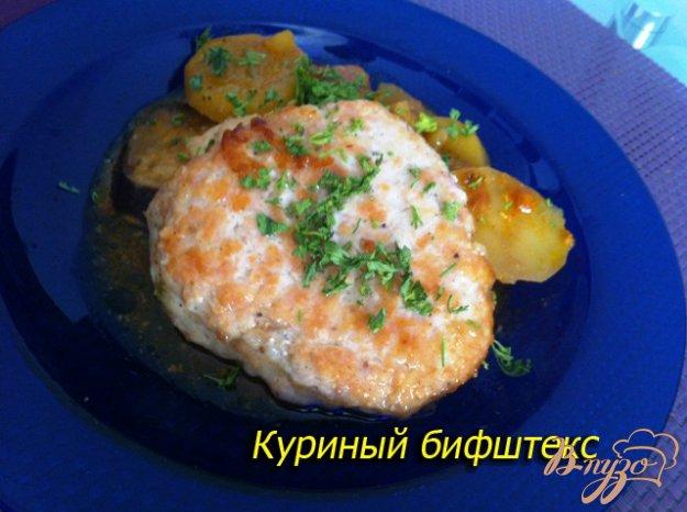 Рецепт Куриный рубленный аля бифштекс