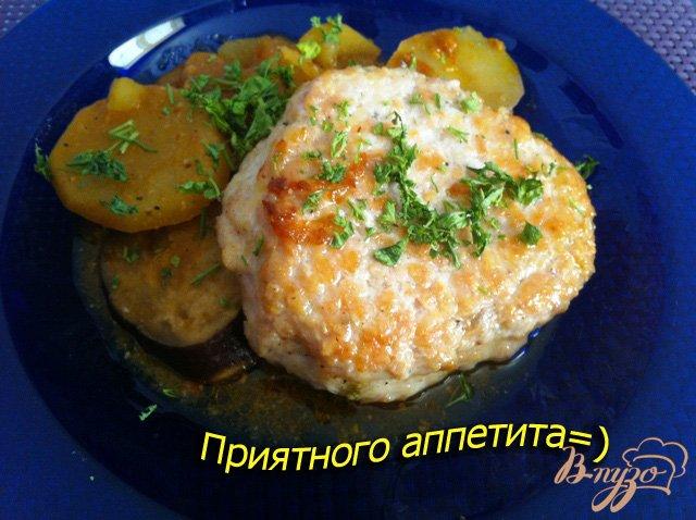 Фото приготовление рецепта: Куриный рубленный аля бифштекс шаг №5