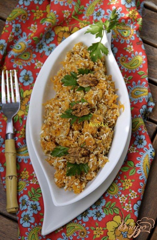 Салат из моркови, яиц и орехов