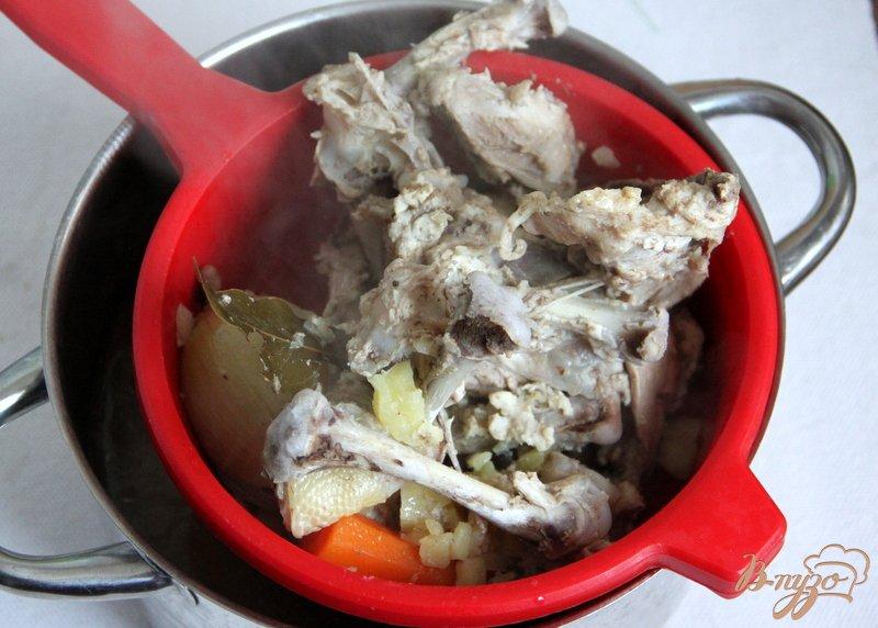 Фото приготовление рецепта: Суп-пюре с тыквой и овощами, с рисом шаг №2