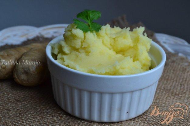 Рецепт Картофельное пюре с имбирем