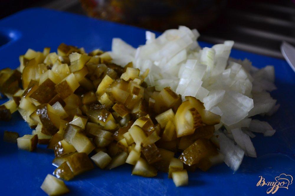 Фото приготовление рецепта: Винегрет с кальмарами шаг №1