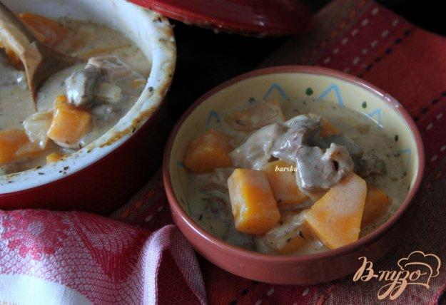 Рецепт Гуляш из свинины тыквы по-немецки