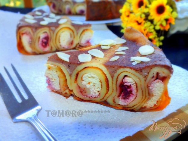 Рецепт Шоколадный блинный торт