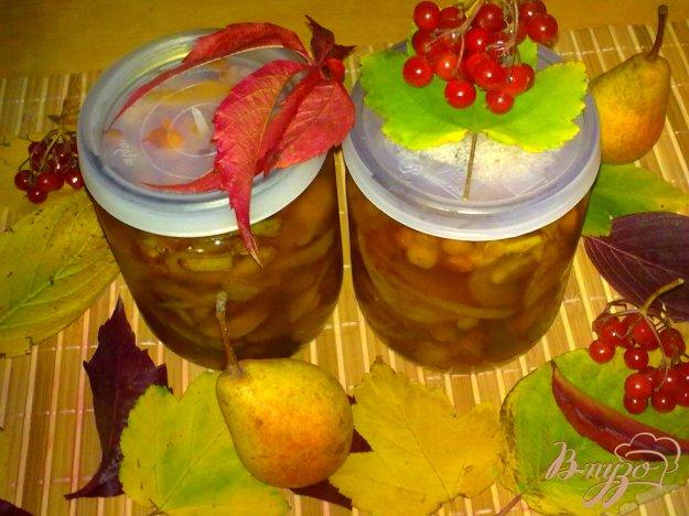Рецепт Варенье грушевое с калиной и ванилином