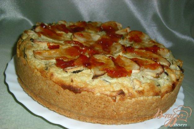 Рецепт Яблочно-рисовый пирог