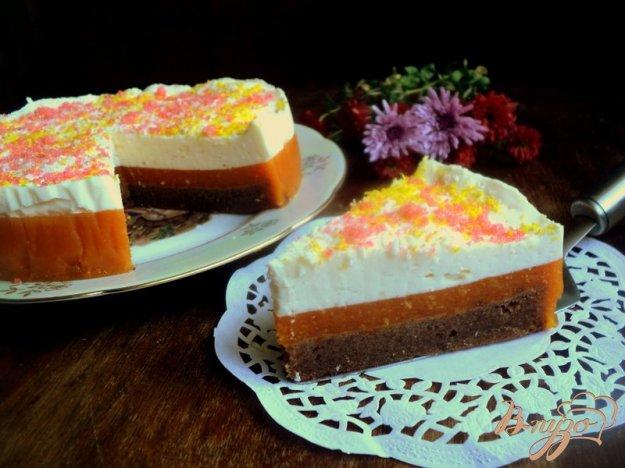 фото рецепта: Торт с тыквенным желе