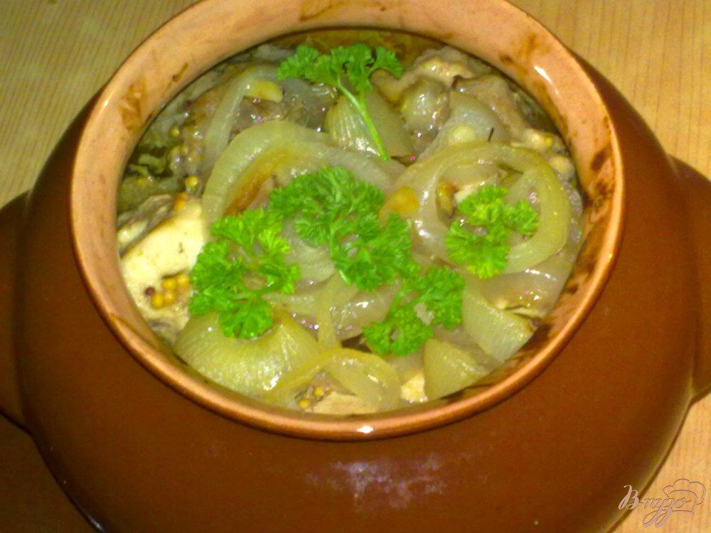 Фото приготовление рецепта: Мясной горшочек шаг №7