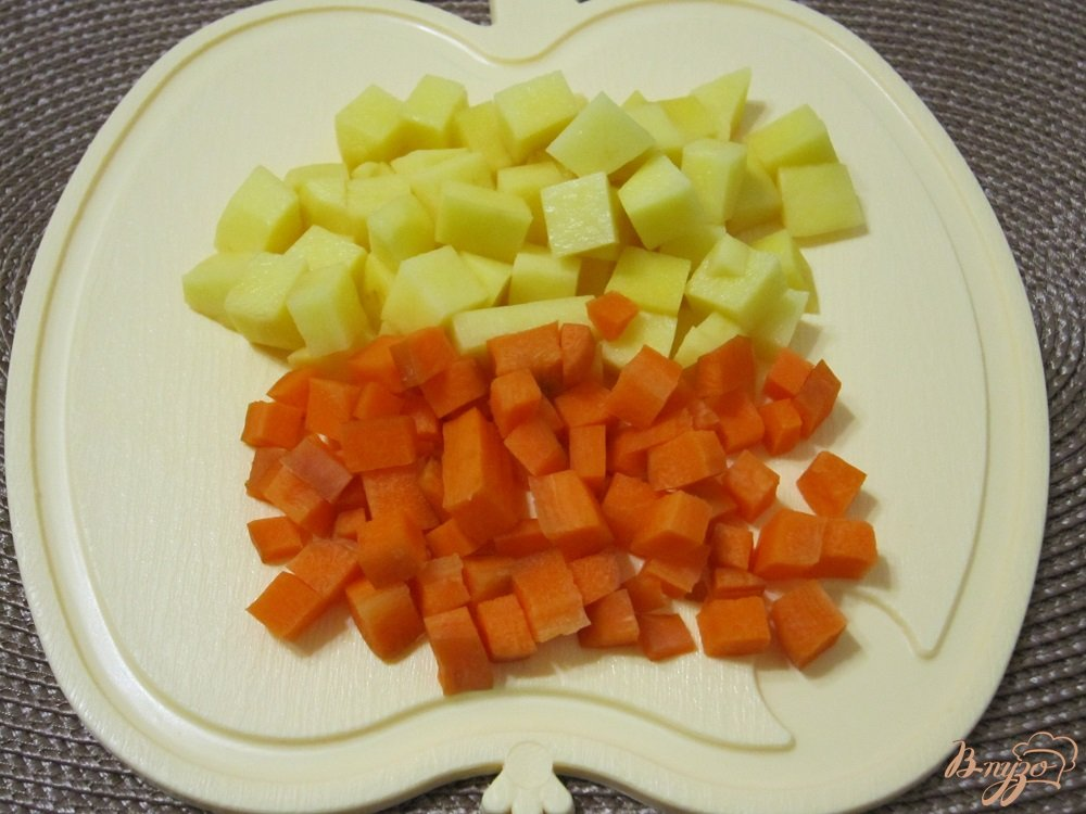 Фото приготовление рецепта: Суп-пюре