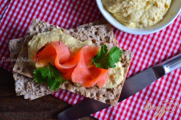 Рецепт Бутербродная паста с нутом