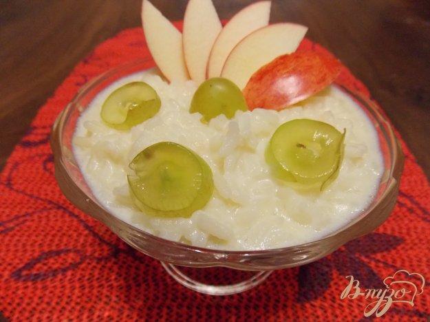 Рецепт Рисовая каша с фруктами в мультиварке