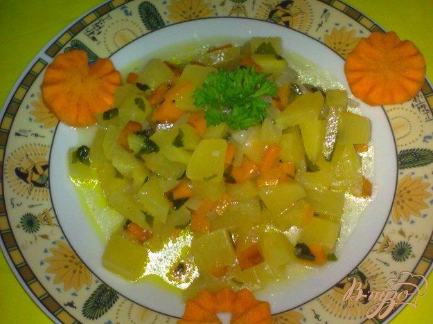 Рецепты из репы с овощами