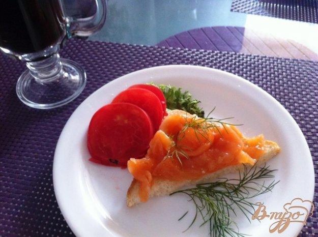 Рецепт Слабосоленый лосось в имбирно-апельсиновом маринаде